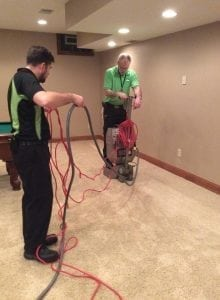 Water damage cleanup in Columbus Ohio