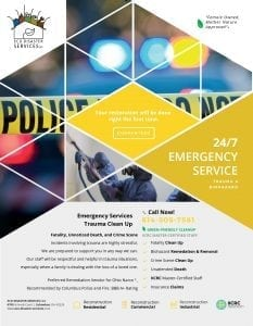 Trauma & Crime Scene Brochure